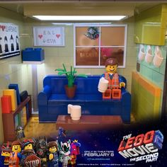 THE LEGO MOVIE 2: THE SECOND PART in #houston Slate Flooring, Concrete Floors, Lego Furniture, Lego Disney Princess, Lego Sculptures, Lego Minecraft, Lego Architecture, Lego Movie 2, Movie Releases