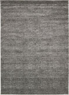 AmazonSmile: Modern Solid Plush 9 feet by 12 feet (9' x 12') Solitaire Frieze Dark Gray Contemporary Area Rug: Kitchen & Dining