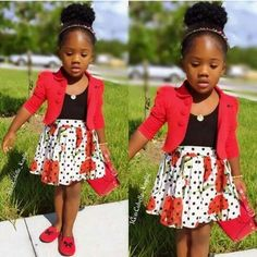 Mind blowing ankara style for kids best of d best ~ Switch Afrique Ankara Styles For Kids, African Dresses For Kids, African Children, Latest African Fashion Dresses, African Attire, African Wear, Kids Outfits Girls, Girl Outfits, Ankara Stil