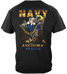 Navy Store, Navy Anchor, Navy Veteran, United States Navy, Us Navy, Hooded Sweatshirts, Long Sleeve Shirts, The Unit, Mens Tops