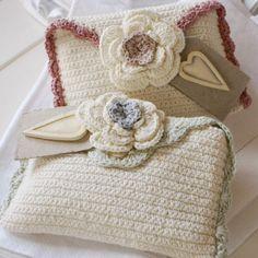 So easy to do... so pretty. crochet ideas