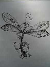 small dragonfly tattoos - Recherche Google