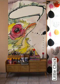 Tapete: Little Chick - TapetenAgentur