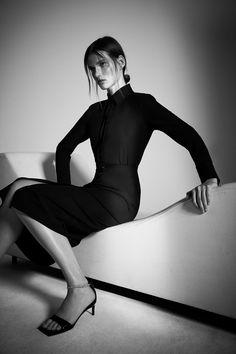 Minimal Classic Style, Smart Buy, Belted Shirt Dress, Zara United States, Mi Long, Zara Dresses, Sporty, Long Sleeve, Sleeves