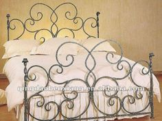 Art and Interior: Wrought Iron Beds and other Metal Furniture