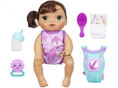 Boneca Baby Alive Hora do Passeio Morena - Hasbro