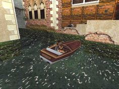 Level 2: Venice  I love this level, but lately I found out there it's not necessary to use the boats. It's incredible