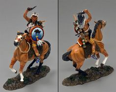 Custer's Last Stand TRW063 Red Stripe - Made by King and Country Military Miniatures and Models. Factory made, hand assembled, painted and boxed in a padded decorative box. Excellent gift for the enthusiast.