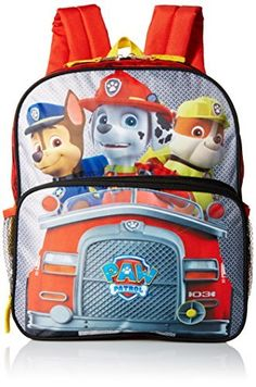 782accabd5 Paw Patrol Boys  14 Inch Backpack Trucking