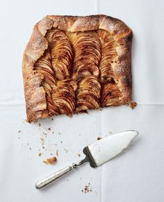 Salted-Butter Apple Galette with Maple Whipped Cream Recipe - Bon Appétit