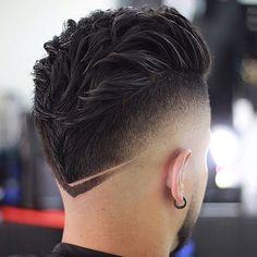 40 Simple, Regular, Clean Cut Haircuts for Men - Men's Hairstyles Mohawk Hairstyles Men, Haircuts For Men, Popular Haircuts, Fresh Haircuts, Mens Fade Haircut, Hairstyle Man, Barber Haircuts, Modern Haircuts, Medium Hairstyles