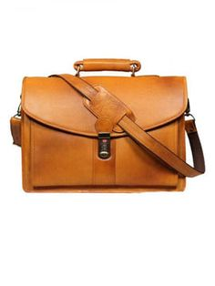 f8831aa8b5 Leather World 11 Liter Rust Genuine Leather Designer Laptop with Zip  Closure Travel Bag