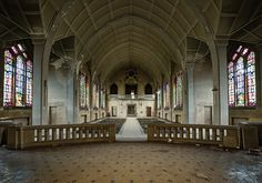 Abandoned Churches-An abandoned Catholic school in France.