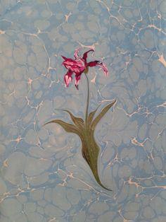 ebru sanatı (marbling art) by mai hatti