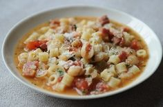Pasta E Fagioli   Foodie: Your Recipes. Your way.