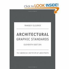Architectural Graphic Standards, 11th Edition: The American Institute of Architects: 9780471700913: Amazon.com: Books Cheng: advisory board and edited new chapter on Computing Technologies (including essay by Kimo Griggs)
