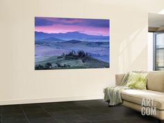 Val d'Orcia, Tuscany, Italy Wall Mural by Doug Pearson at Art.com