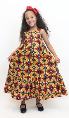 Two Pieces Tulle Prom Dress*Long Prom Dresses*Charming Prom Dresses*Evening Dress* Prom Gowns* Formal Women Dress*prom dress Ankara Styles For Kids, African Dresses For Kids, Latest African Fashion Dresses, African Print Dresses, African Print Fashion, African Prints, African Attire, African Wear, African Women
