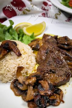 How To Cook Liver, Beef Liver, Protein Sources, French Fries, Greek Recipes, Steak, Stuffed Mushrooms, Food And Drink, Cooking