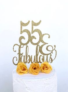 Excited to share this item from my shop: 55 & Fabulous Cake Topper Happy 55th Birthday, 40th Birthday Quotes, Fabulous Birthday, 50th Birthday Gifts, Mom Birthday Gift, Birthday Greetings, Birthday Celebration, Birthday Wishes, Surprise Birthday