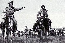 Amedeo Guillet alla guida del Gruppo Bande Amhara nel 1940