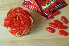 Hot Tamales Cupcake