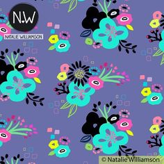 Here's a quick share of a new pattern collection I'm working on for @surtexshow. Not long now! #artlicensing #funkyflorals #fancyflorals #booth244 #surfacepatterndesign #fabricdesign #papergoods #stationerydesign #surfacedesign #surtex #surtex2016 #portfolio