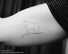 lone wolf Animal Tattoos For Men, Arm Tattoos For Women, Tattoos For Guys, Bicep Tattoo Men, Inner Bicep Tattoo, Lone Wolf Tattoo, Explore Tattoo, Tattoo Parlors, Little Tattoos