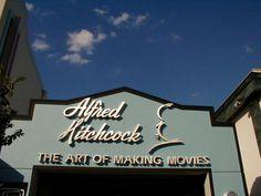 Universal Studios Florida Alfred Hitchcock Art of Making Movies Enterance