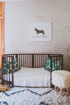 Stokke Sleepi Junior Bed in Walnut – Sustainable, beautiful modern furniture that grows from nursery to kids room