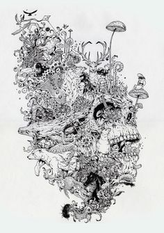 Kerby Rosanes - Growth Art Print - illustration