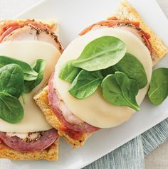 Here's a quick sandwich idea for when time is tight and tummies are growling. Turkey Bruschetta Sandwiches are ready quickly and are perfectly portable.