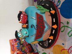 Disney cars birthday cake