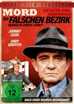 """Ab 08.09.2015 bei uns! Ein spannender Kriminalfilm mit Country-Legende Johnny Cash und """"Matlock""""-Darsteller Andy Griffith"""