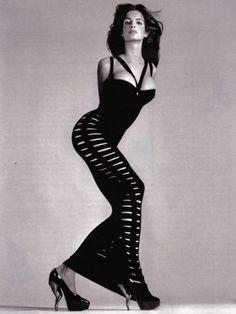 "stephanie-seymour: Stephanie Seymour""The Outsider"", The New Yorker US, November 1994Photographed by Richard Avedon"