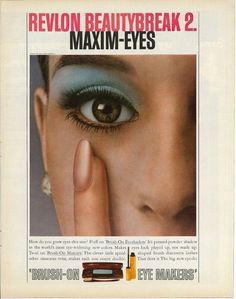 1967 REVLON COSMETICS EYESHADOW Advertisement Old Ads Vintage   Etsy