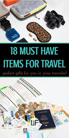 Essential Collection of Travel Tips for New and Experienced Travelers Knowing what to bring on a trip can be a hard thing to determine. These are some great items that you might overlook but will be happy to have when you arrive at your destination! Travel Items, Travel Gadgets, Travel Gifts, Travel Products, Travel Stuff, Travel Hacks, Travel Checklist, Packing Tips For Travel, Travel Advice