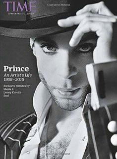 Prince on the cover of a special Commemorative Edition of TIME magazine.