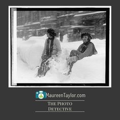 What's the biggest storm you remember? This photo is from the Library of Congress depicting the blizzard of January 28 1922.