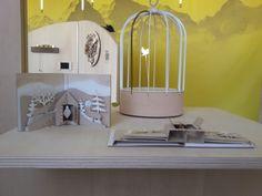 KOO3 by Aurélien Mabilat & Arnaud Immobersteg | BIRD CAGE CLOCK by Dorothée Loustalot. #fuorisalone2016 #mdw2016 #milan #venturalambrate #venturadistrict #cuckoo #clock #cucù
