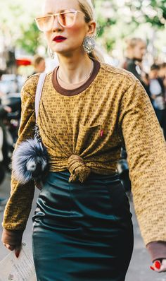 """The """"Gaudy"""" Trend Every It Girl Will Be Wearing This Year via @WhoWhatWearUK"""