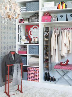 An organized closet is a happy closet.