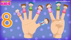 10 Little Fingers | Ten Little Finger Nursery Rhyme