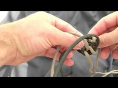 Paracordist How to Tie the Double Wall Knot on the monkeys fist self defense keychain