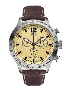 Ρολόι NAUTICA BFD 101 Brown A19564G