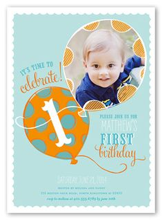 Personalised 1st Birthday Chevron Invitation DIY Printing JPEG
