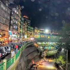 Gangtok city , Sikkim , India.