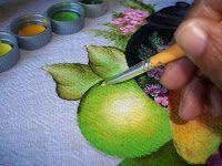Vilma Varanda Pinturas : Maçã Verde