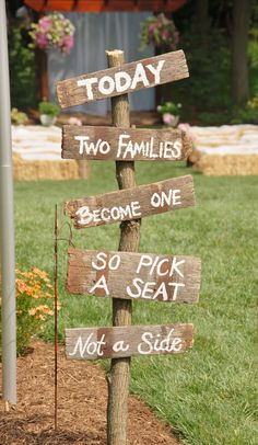 Today Two Families Become One So Pick A by DaretoDreamBoutique, $45.00