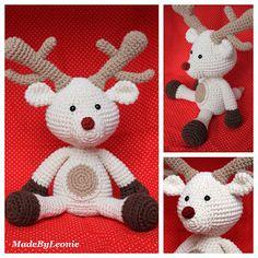 Rudolf het rendier. (Met patroon op website)